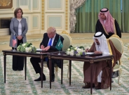 En Arabie saoudite, Trump et le roi Salmane signent pour plus de 380 milliards de dollars d'accords